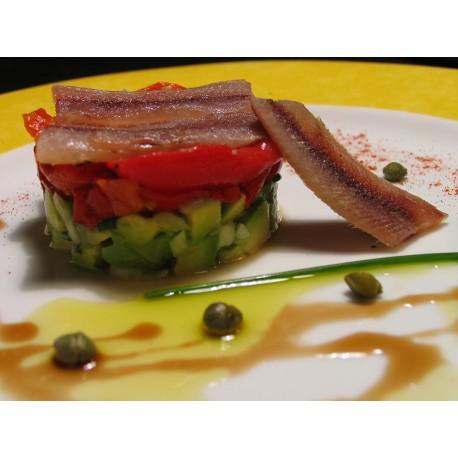 Sardines et anchois marinés