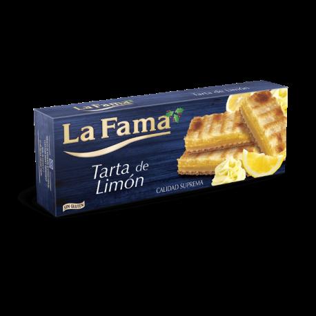 Turrón tarta de limón