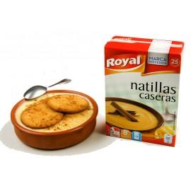 Préparation pour Natillas