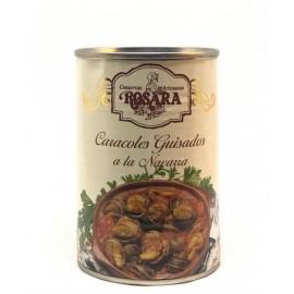 Escargots mijotés en sauce / Caracoles guisados a la Navarra