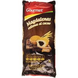 Madeleines fourrées de chocolat / Magdalenas rellenas de cacao