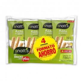 Sticks de pain aux graines de tournesol / Palitos de pan con pipas