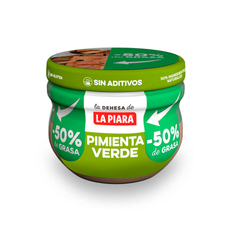 Paté de hígado de cerdo a la pimienta verde