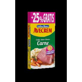 Bouillon cube de viande / Avecrem de carne