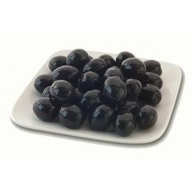 Olives noires avec noyau, 360 gr net