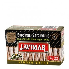 Petites sardines à l'huile d'olive 14/22