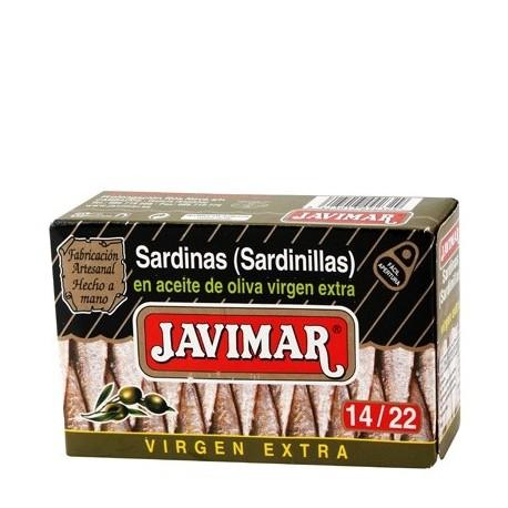 Sardinillas en aceite de oliva 14 / 22 (Petites sardines)