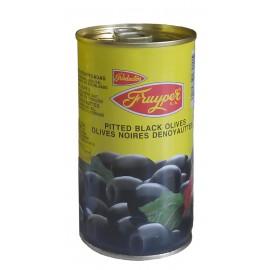 Olives noires dénoyautées, 350 gr net