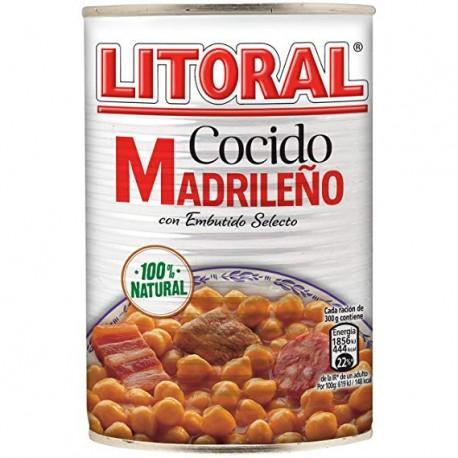 Cocido Madrileño Litoral, 440 gr / Cassoulet à la madrilène 440 g