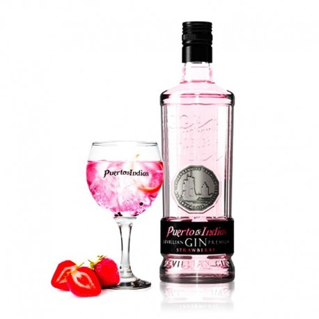 Gin Strawberry Puerto de Indias