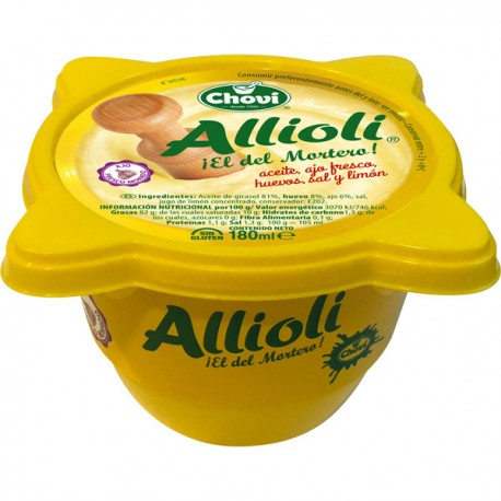 Sauce Allioli Chovi, 180 ml